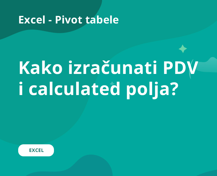 PDV i calculated polja
