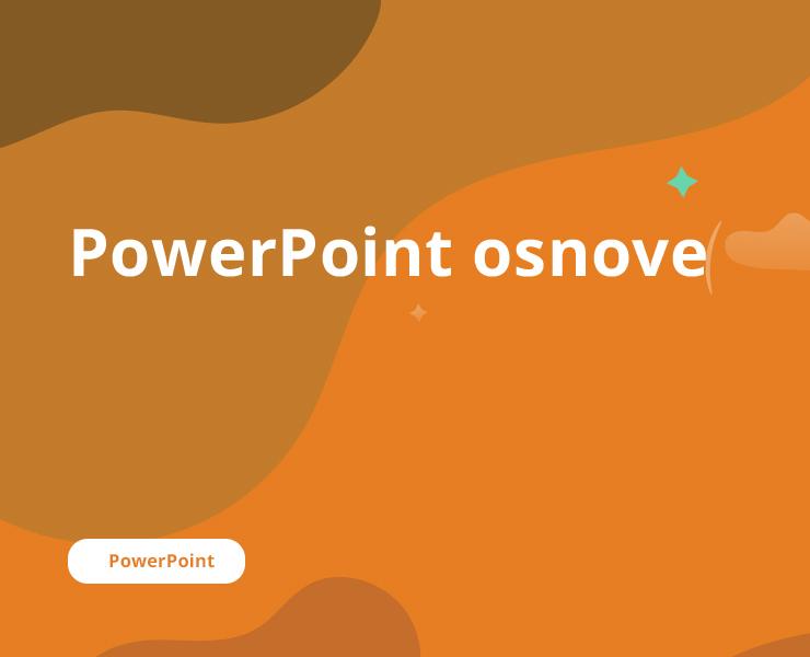 PowerPoint osnove